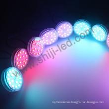 60 mm de diámetro 16 piezas LED SMD 5050RGB 1903/2811 luz de píxel digital para diversión o entretenimiento