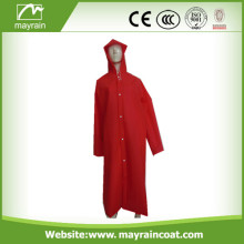 Impermeable de PVC de Red Lady