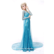 princess frozen elsa dress cosplay costume for party