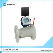 Medidor de fluxo de água digital ultra-sônico de dois canais