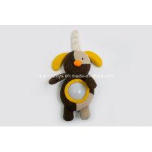Fábrica de suministros de tejido de punto jersey de tela bebé luz de juguete