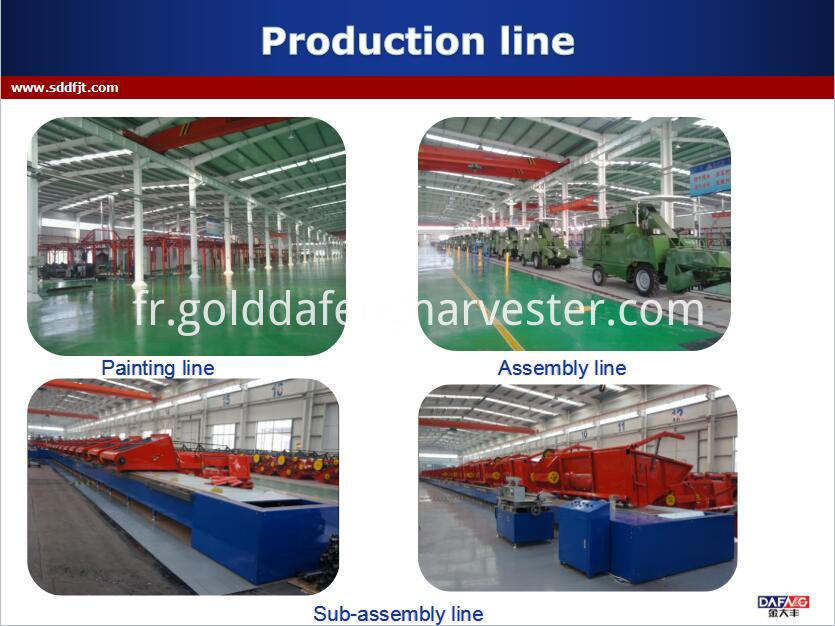 Good functions rice combine harvester for sale philippines --product line001