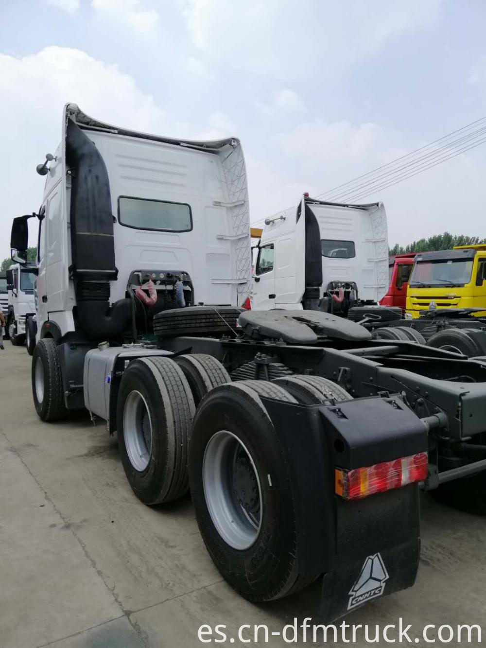 Howo A7 Tractor Head Truck 8