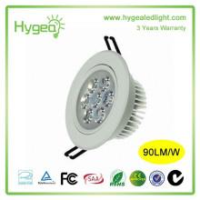 Home lighting ceiling lamp Energy saving Downlight 7w LED Spot light AC 85-265V
