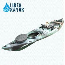 Plastik Paddel Kajak für Einzelpersonen Fischen Gebrauch