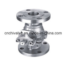 150lb Stainless Steel Two Pieces Flange Ball Valve