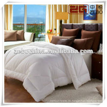 Hot Selling Cotton Down-proof Cover Luxus Weiß Gans Duvet