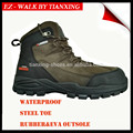 Waterproof Hiker style safety shoes with steel toe cap