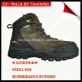 Стиль водонепроницаемый походные ботинки безопасности с стальным носком