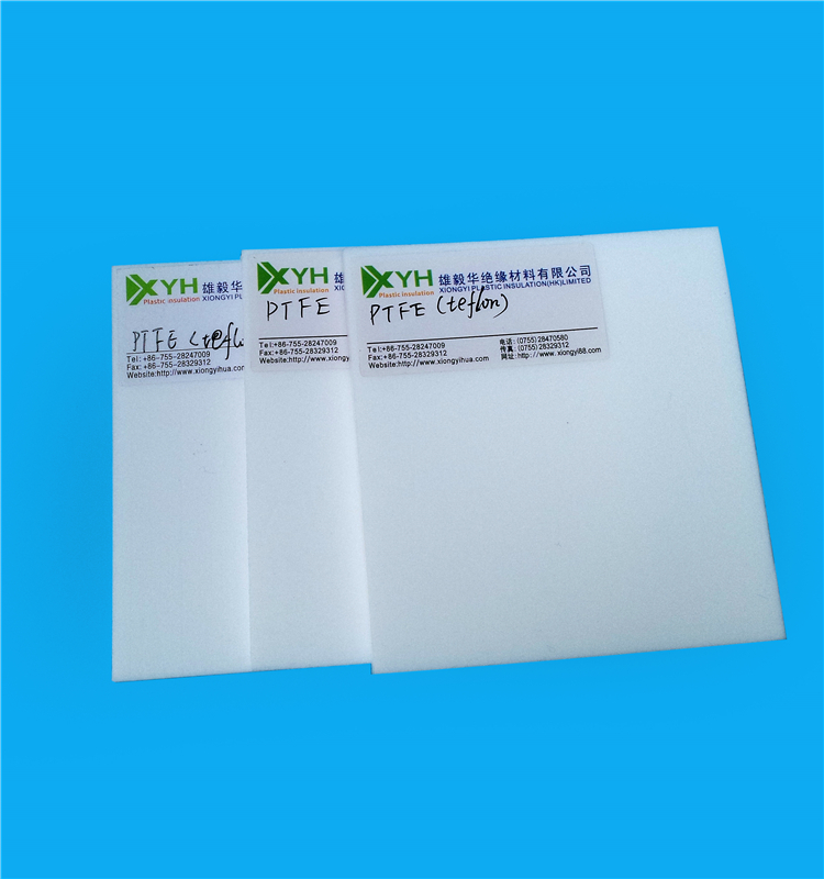 Engineering Plastic PTFE Teflon Sheet