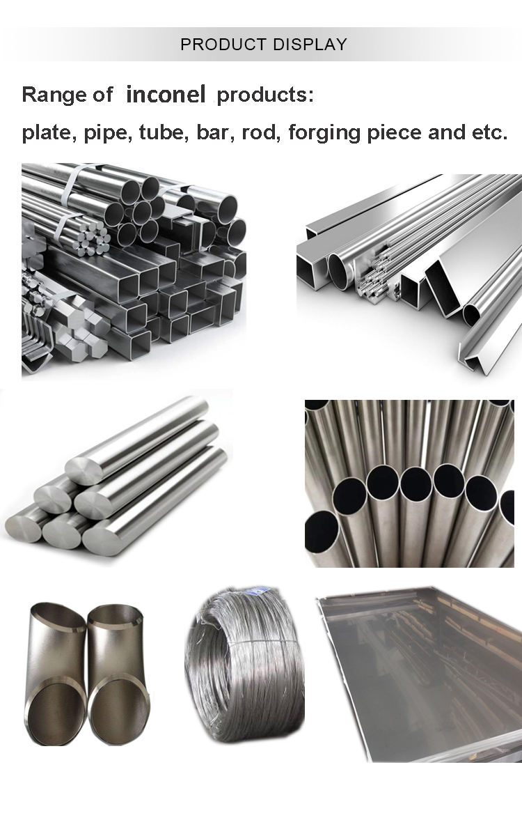 inconel product display