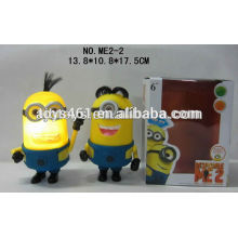 Despicable ME2 9 inch Vinyl doll with ligh&music