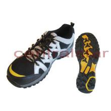 Arbeiten Sie Mens-heiße gehende PU-Ineinander greifen-Schuhe um (HS006)