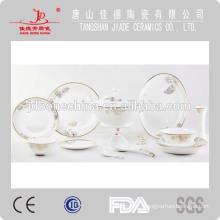 embossed gold dinner set, fine bone china dinner ware porcelain plate