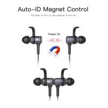 Fone de ouvido magnético sem fio Bluetooth Earbuds Sport