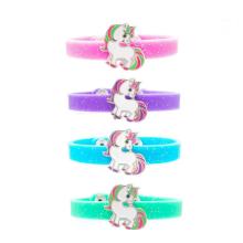 Bracelets en caoutchouc Bracelets en silicone de couleur unie