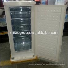 Smad por mayor precio hotel / hogar puerta sólida compacta congelador vertical