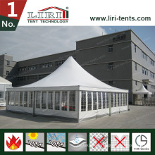 9X9m Marquee Tent with White PVC Roof Parabolic Shape Tent