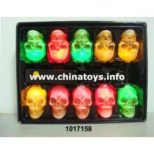 Halloween Musical Skull String luz controle de som de controle de luz (1017158)