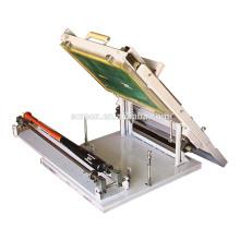 Плоская вакуумная трафаретная печатная машина