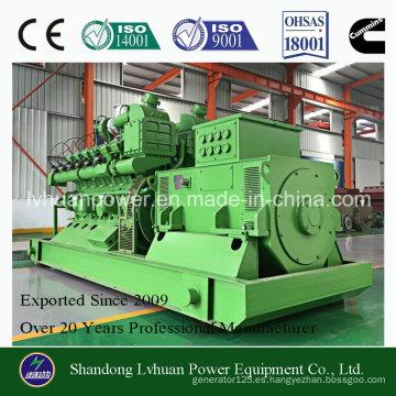 El sistema de generador del biogás de la eficacia alta CUMMINS 300kw adopta el gas de Biomass Marsh, CNG