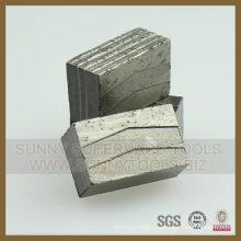 Granit Sägeblattsegment Granit Diamantsegment für Granitstein