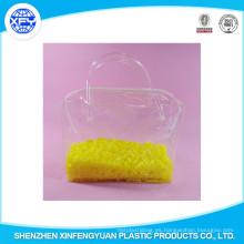 Venta al por mayor de PVC de impresión de apertura de cremallera bolsa de plástico