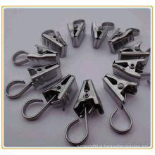 Grampos magnéticos para cortinas de metal