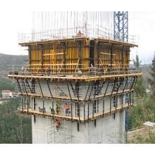 Encofrado que sube del puente automático de la ingeniería del acero