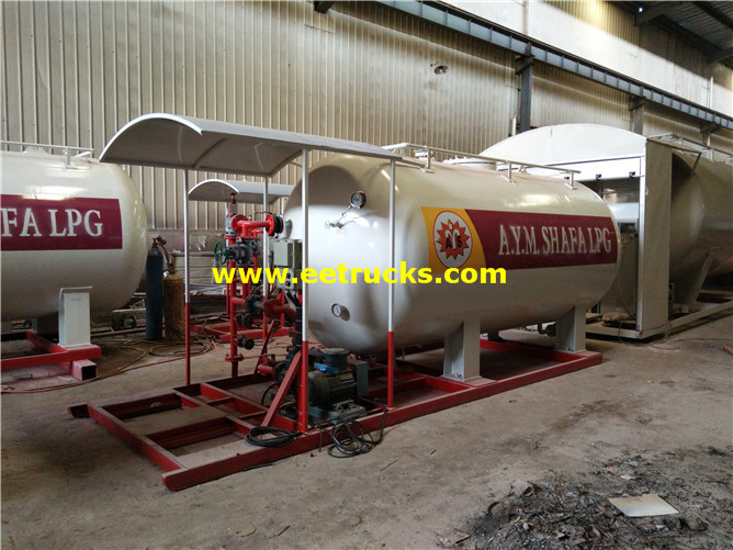 Skid-mounted LPG Filling Stations