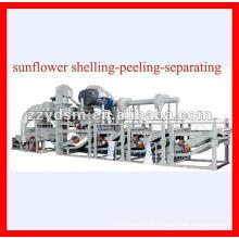 Shell de sementes de girassol removendo a máquina / máquina de descasque