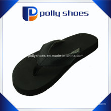 Women′s Flip Flop Black Beach Sandal Size 36