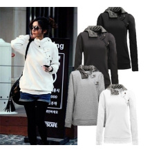Wholesale Plus Size Women Cheap Sport Suit Pullover Hoodie
