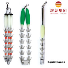 Chile Commercial Fishing Plastic Squid Hooks