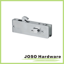 Casma Style Glass Door Lock Patch Fitting Including Cylinder G-W