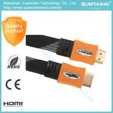 Cable de nylon plano de alta calidad 2.0V Am / Am para HDTV