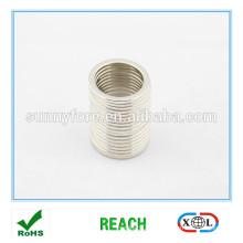 Waschmaschine Ring Form Magnet vernickelt
