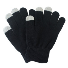 Мужская мода акриловые трикотажные зимние Сенсорный экран волшебные перчатки (YKY5466)