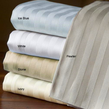 Kain Organik Cotton Sateen Stripe