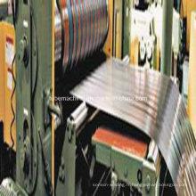 Ligne de refendage des bobines d'acier