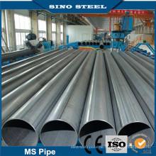 Q195 Q235 Schwarz ERW geschweißtes Stahlrohr