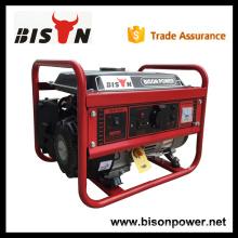 BISON CHINA TaiZhou 1.5kw eingebranntes bewegliches Benzin HONDA 1.5kw elektrischer Generator