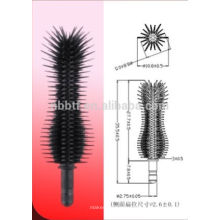 Silicone Slender curly type Destaque Brush Head