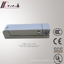 Alta Qualidade 360 Degress Rotatable Bedside Chrome Wall Lamp