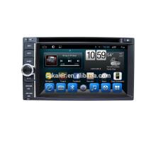 ¡Gran venta! Factory 6.2inch 2 din universal Auto Navi GPS reproductor de DVD Frontal grande USB con Radio Bluetooth, wifi, Android 6.0 / 7.1