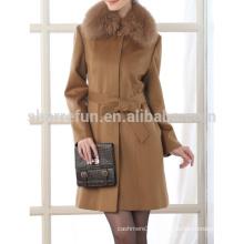 2015AW женские 100% кашемир пальто горячая распродажа из Китая