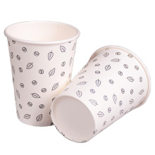 Manufacture customized printed logo 16oz double wall PLA paper cups for hot drink with lids