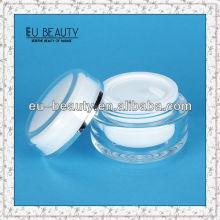 Runde 150 Acryl Creme Ball Form Sahne Glas