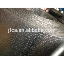 Bandes en aluminium résistant à la corrosion et isolées avec un motif de peau d'orange