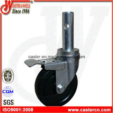 5 Zoll Hard Rubber Indoor Falsework Castor